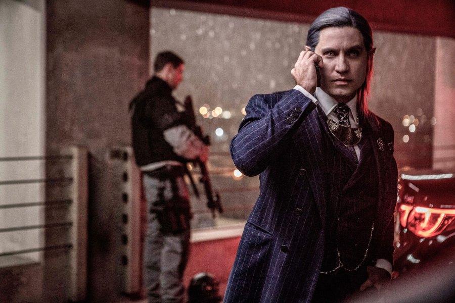 Edgar Ramirez as Kandomere in Netflix's Bright   Photo: Netflix