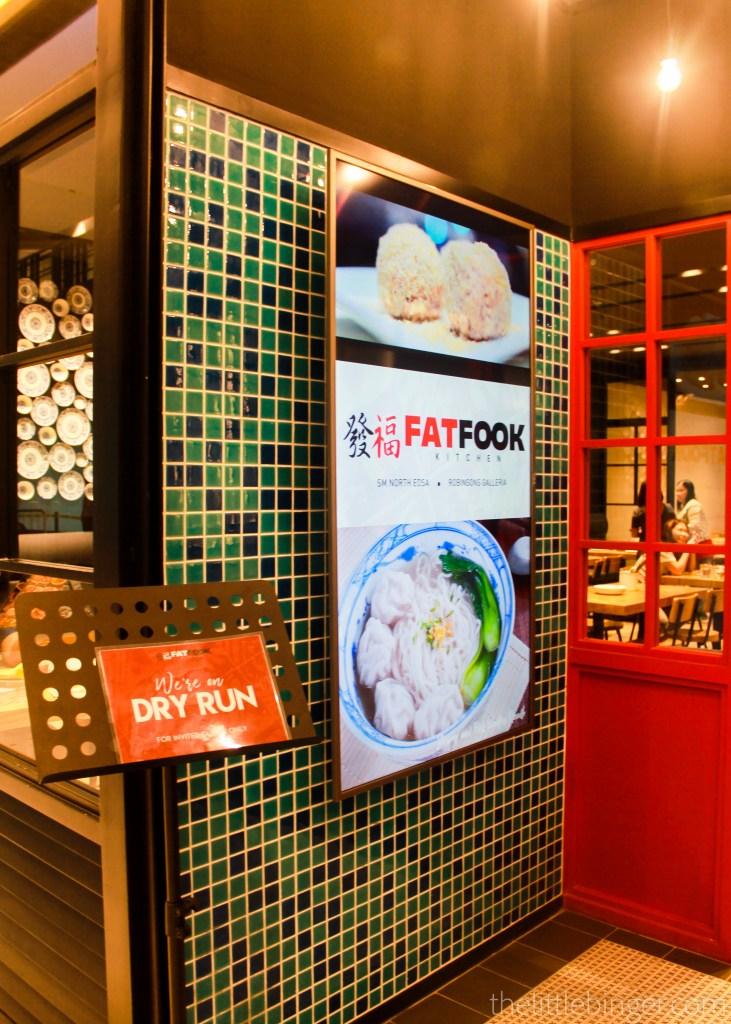 Dry Run Fat Fook Manila Robinsons Galleria