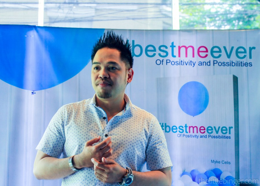 Myke Celis sharing us what inspired him to write #BestMeEver