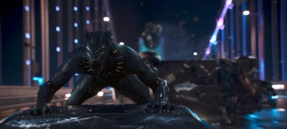 Marvel Studios' BLACK PANTHER. Black Panther/T'Challa (Chadwick Boseman). Ph: Film Frame. ©Marvel Studios 2018 | Credit: Marvel Studios