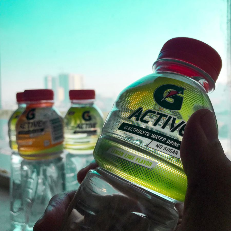 Craving for soft drinks? Have Gatorade G Active instead!