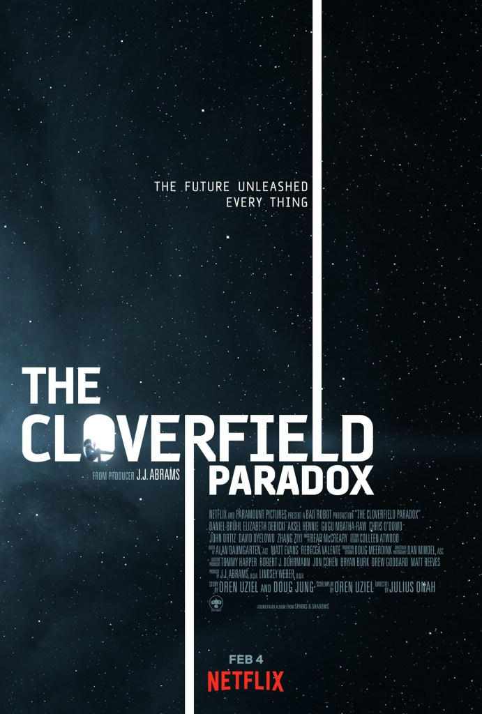 The Cloverfield Paradox poster