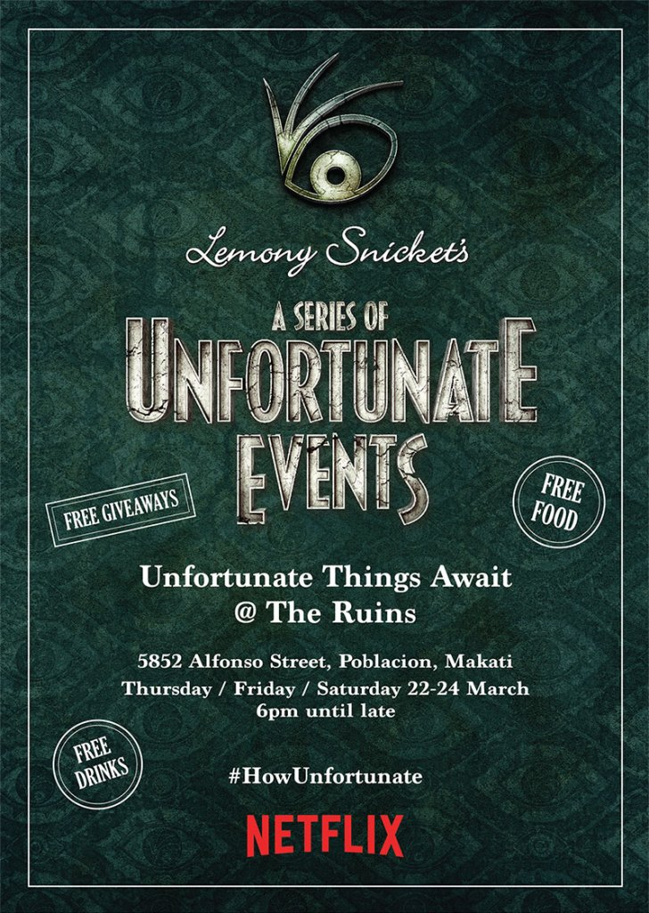 Experience Unfortunate Things @ The Ruins this weekend.