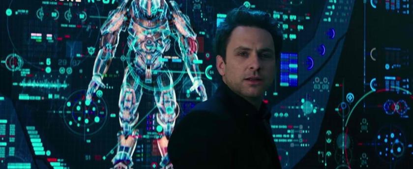 Charlie Day returns in Pacific Rim Uprising as Dr. Newt Geiszler.
