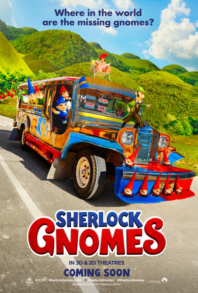 Sherlock Gnomes feature the Pinoy Jeepney