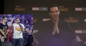 benedict cumberbatch marvel fan event infinity war