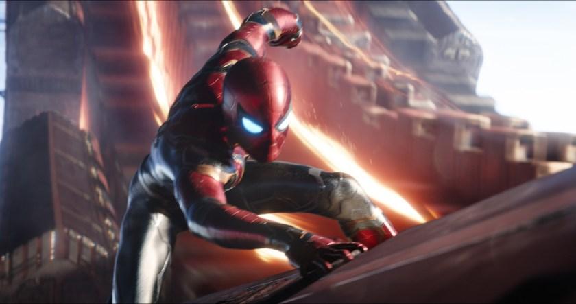 Is it the Iron Spider suit in Avengers: Infinity War.   Credit: Marvel Studios