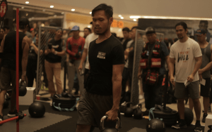 I am a Willbreaker, Bingers! Taken during Under Armour Test of Will 2018!