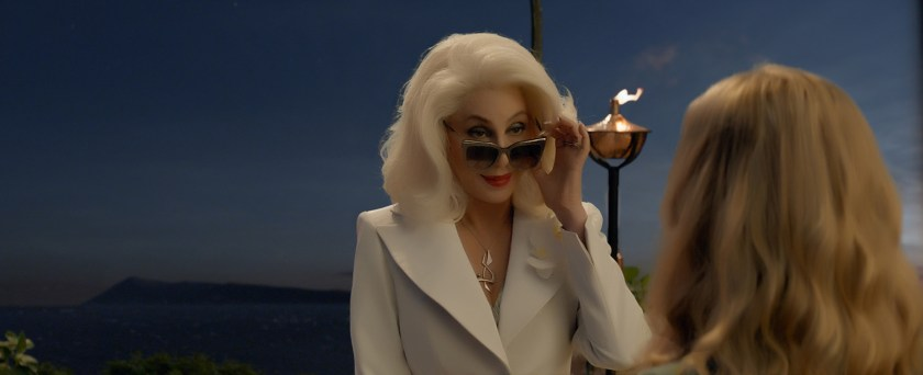Cher is the queen in Mamma Mia, Here We Go Again | Credit: United International Pictures