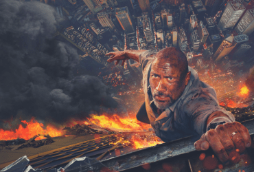 Dwayne Johnson is the strongest man alive in Skyscraper. | Credit: Universal Pictures