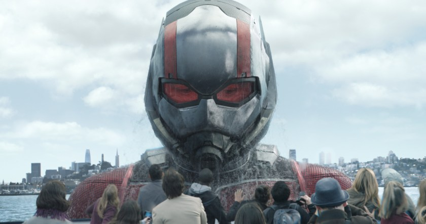 Ant-Man/Scott Lang in his Giant-Man form (Paul Rudd) in Ant-Man and the Wasp. | Credit: Marvel
