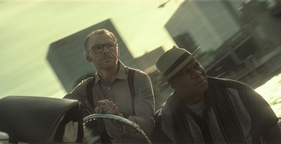 Left to right: Simon Pegg as Benji Dunn and Ving Rhames as Luther Stickell in MISSION: IMPOSSIBLE - FALLOUT | Credit: Paramount Pictures