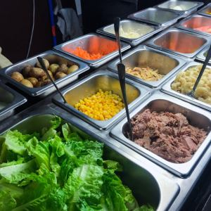 Pick your heart (or tummy's) desire in Salad Bar!