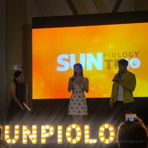 Kisses Delavin and Robi Domingo celebrated the launch of SunPIOLOgy TR10