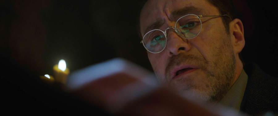 Demian Bichir is Father Burke in The Nun. | Credit: Warner Bros. Pictures