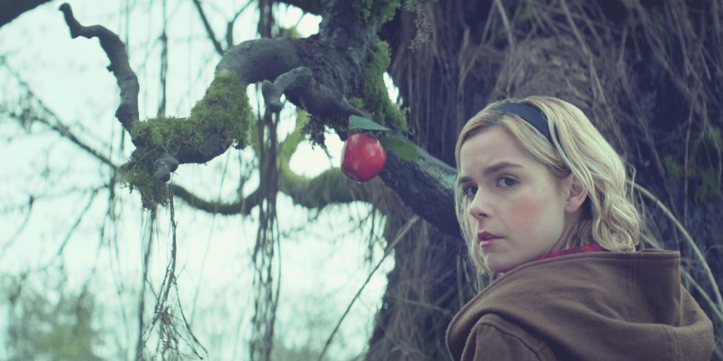 Kiernan Shipka is a different Sabrina in CHILLING ADVENTURES OF SABRINA   Credit: Netflix