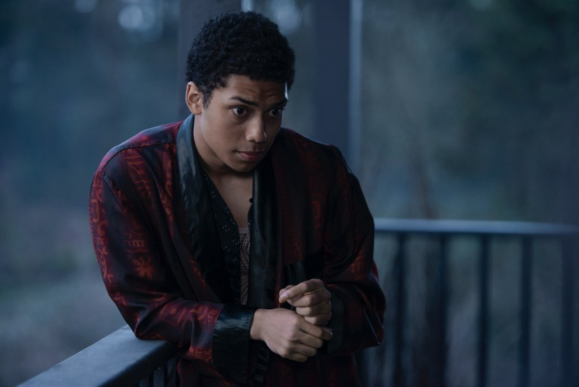 Chance Pedromo as Ambrose in CHILLING ADVENTURES OF SABRINA. | Credit: Netflix