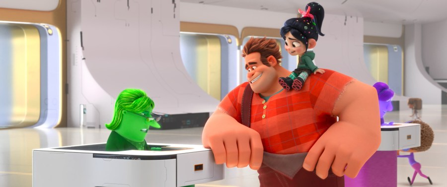 Ralph and Vannelope pays their dues in Ralph Breaks the Internet. ©2018 Disney. All Rights Reserved. | The Little Binger