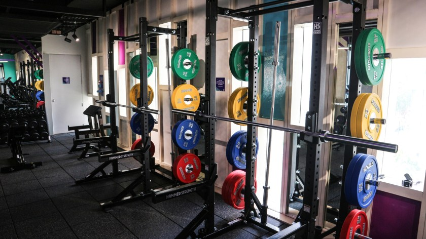 It's all about perfecting your form so you're not just working out but working those muscles right with the club's strength and weightlifting facility.