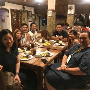 Bataan White Corals Beach Resort prepared a yummy dinner for us!   The Little Binger