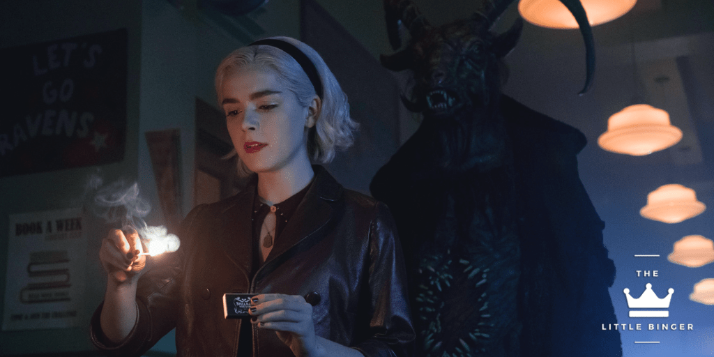Chilling Adventures of Sabrina Part 2 | The Little Binger