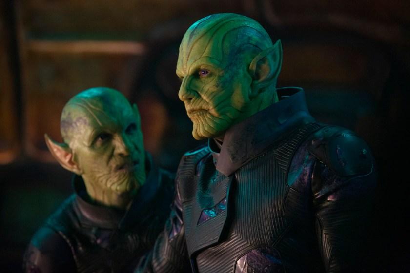 Fear the Skrulls in Captain Marvel.   The Little Binger   Credit: Marvel Studios