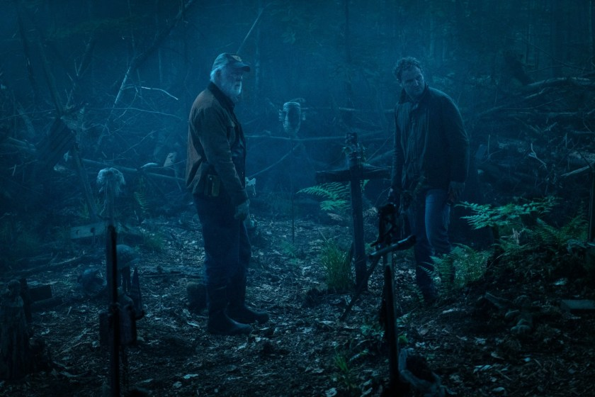 Jason Clarke and John Lithgow in Pet Sematary   The Little Binger   Credit: United International Pictures