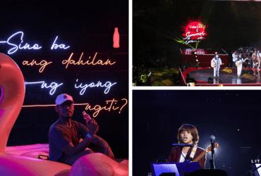 The Little Binger experienced a hot summer at the Coke Studio Summer Concert!