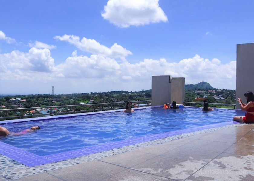 Take a dip and enjoy the view   One Tagaytay Place   The Little Binger