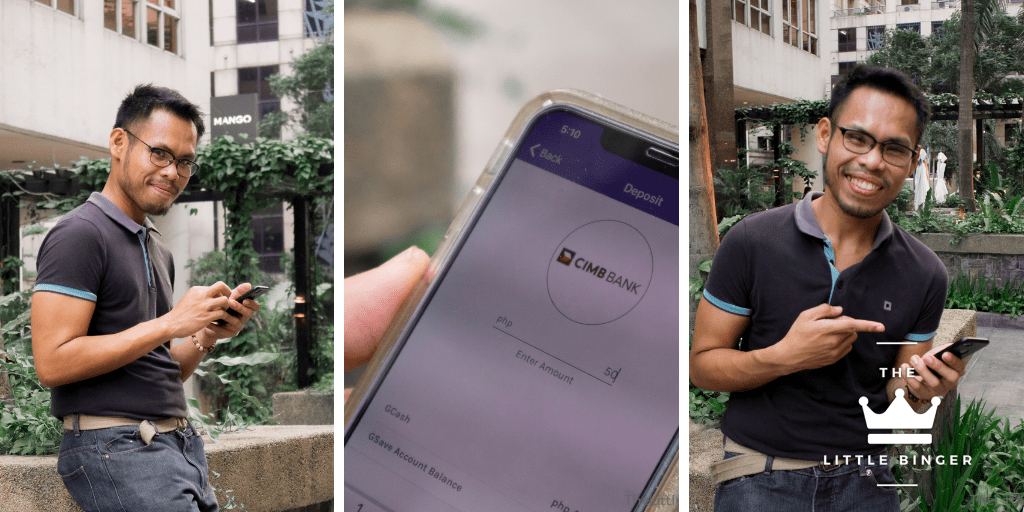 Save in 3 Steps with GCash and CIMB - The Little Binger