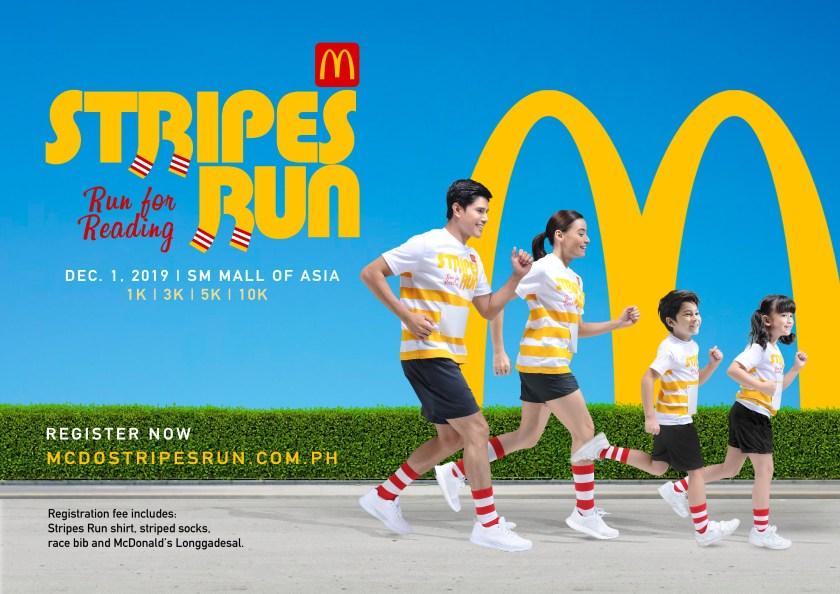 Run for Reading at McDonald's Stripes Run 2019   The Little Binger