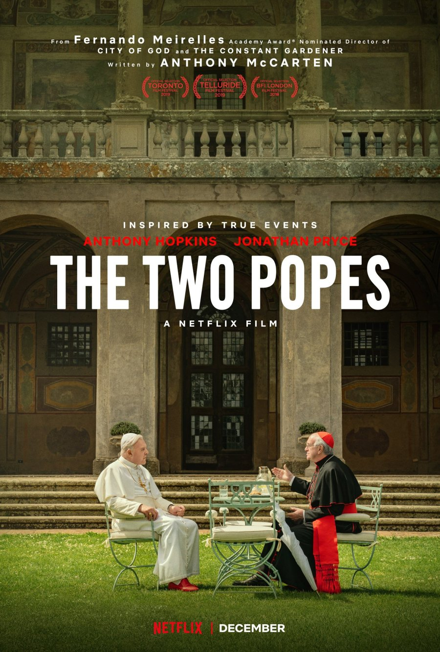 Two Popes Debuts at the 15th Cinema One Originals   Credit: Netflix