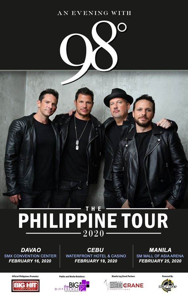 An Evening With 98 Degrees Philippines | The Little Binger