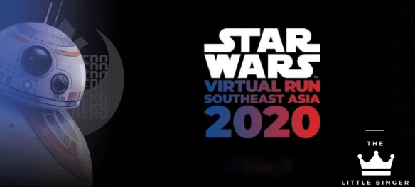Star Wars Virtual Run Southeast Asia 2020   The Little Binger