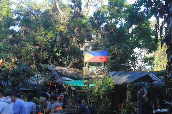 Look for Tsokolate de Batirol at the heart of Camp John Hay when Solobackpacking in Baguio - The Little Binger