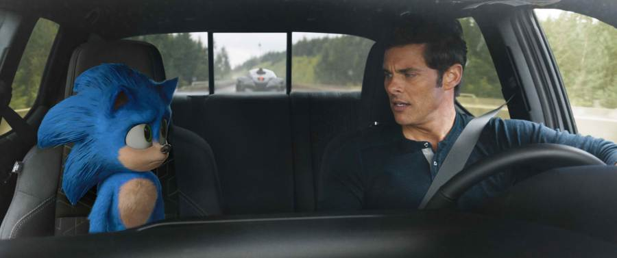 James Marsden goes on a buddy adventure in Sonic The Hedgehog | The Little Binger | Credit: United International Pictures