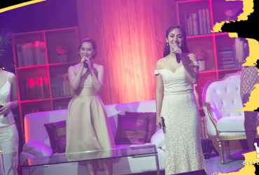 "Musical theater leading ladies Sheila Valderama, Yanah Laurel, Lara Maigue, and Gab Pangilinan performed a rendition of ""You've Got A Friend"" 