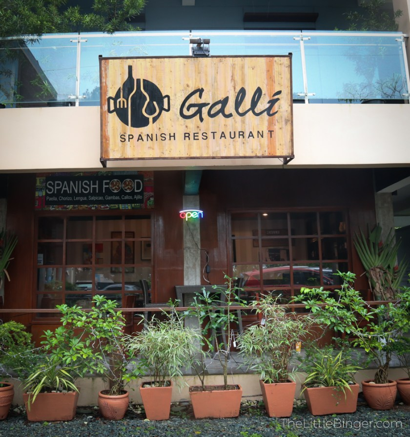 Galli Spanish Restaurant | The Little Binger
