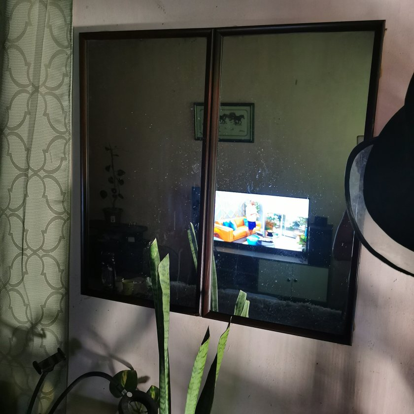 Mirror Wall by the entrance | 4 Easy Steps To Make My DIY Mirror Wall | The Little Binger