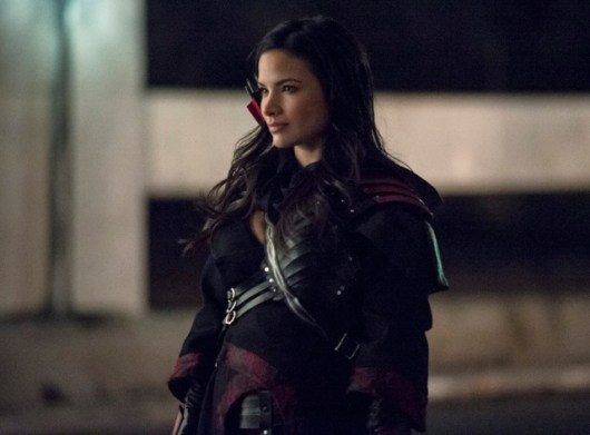 """Arrow -- """"Heir to the Demon"""" -- Image AR213a_0553b -- Pictured: Katrina Law as Nyssa al Ghul -- Photo: Cate Cameron/The CW -- © 2014 The CW Network, LLC. All Rights Reserved"""