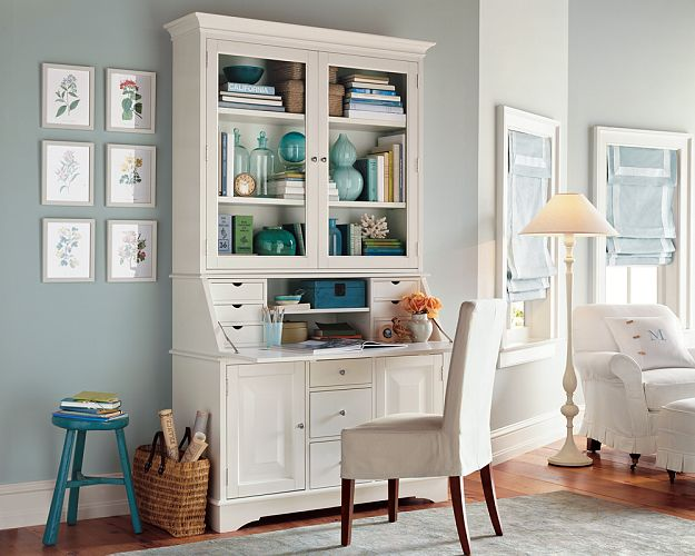 pottery barn kitchen hutch brass hardware obsessed with secretary desks | the little cheff