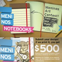 Hard cover notebook design contest