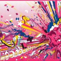 ilovedust, McFaul, and Tristan Eaton - Brisk Iced Tea Packaging