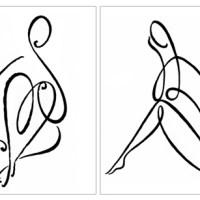 Irina Grabarnik - Line drawings - Irina Grabarnik