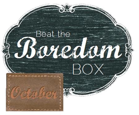October Beat the Boredom Box   ||   thelittledabbler.com