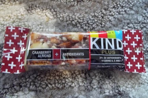 Cranberry Almond Kind Bar   ||   See the review at thelittledabbler.com