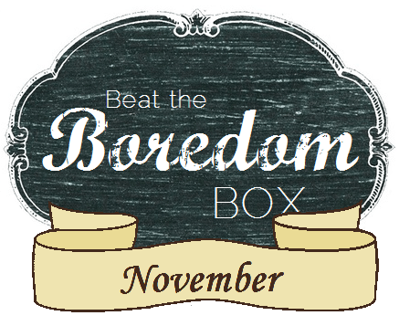 Beat the Boredom Box Logo  ||  thelittledabbler.com