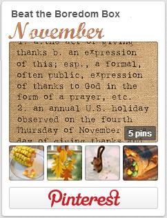 November BTBB Pinterest Board