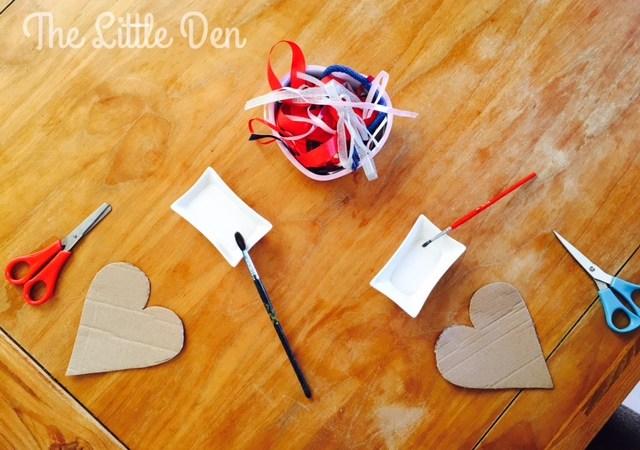 Valentine's Ribbon Art