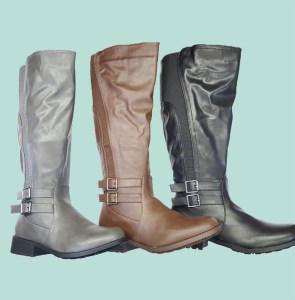 Ladies Long Boots With Buckle Buy Online
